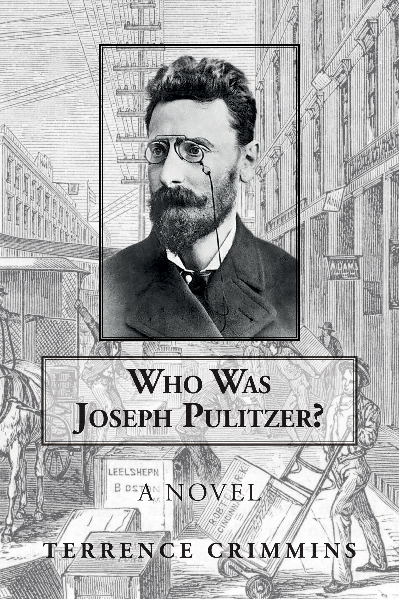 Who Was Joseph Pulitzer? - Terrence Crimmins - Book Cover